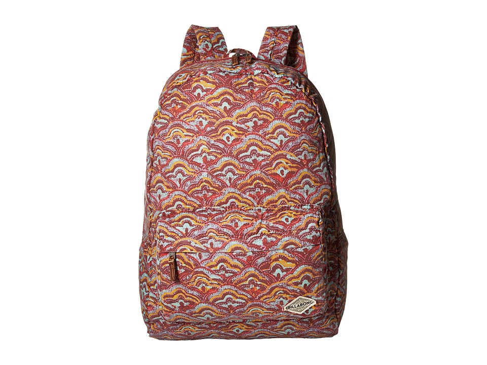 Billabong - Hand Over Love Backpack (Black Cherry) Backpack Bags