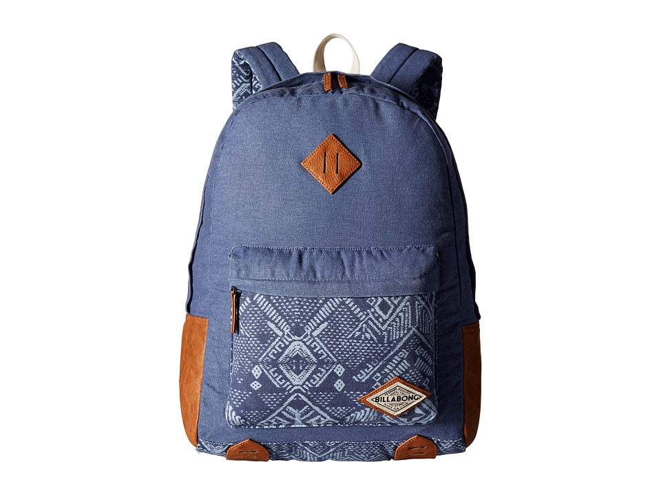 Billabong - Hidden Trek Backpack (Blue Cruz) Backpack Bags