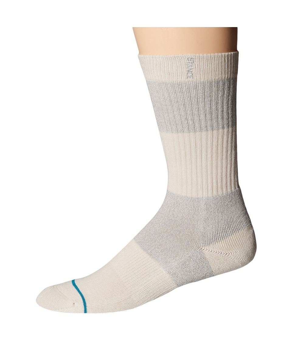 Stance - Spectrum (White) Men's Crew Cut Socks Shoes