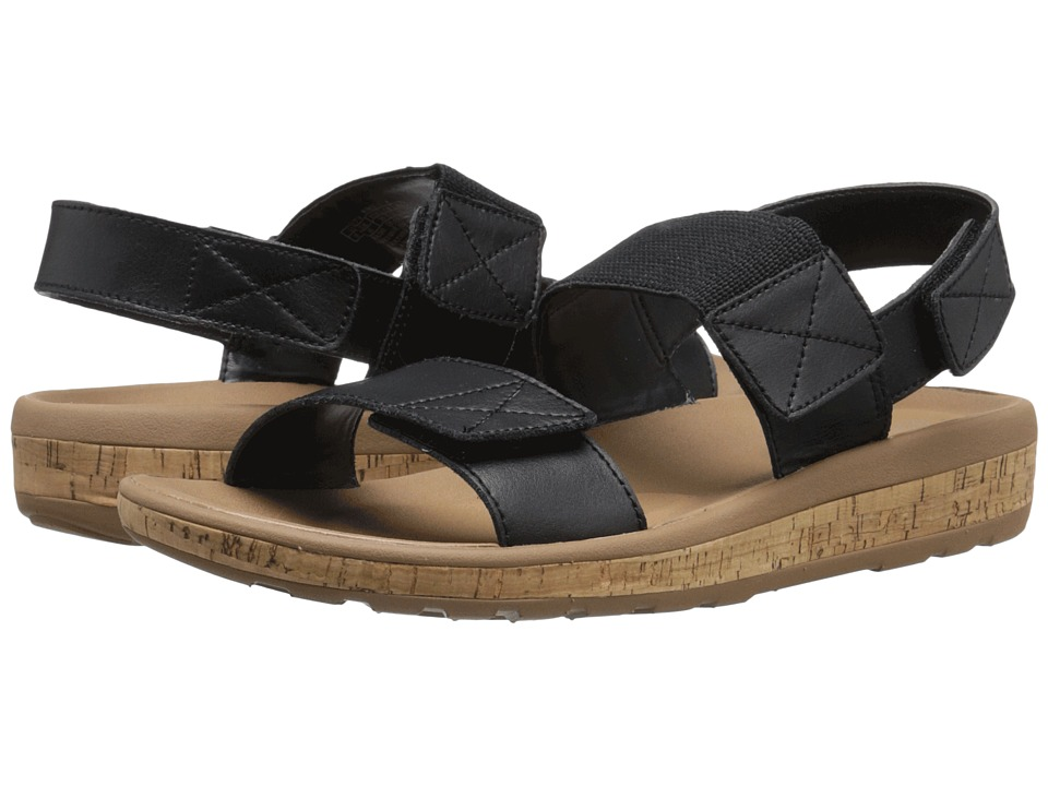 Rockport - Weekend Casuals Keona 2 Band Gore (Black Smooth) Women's Sandals