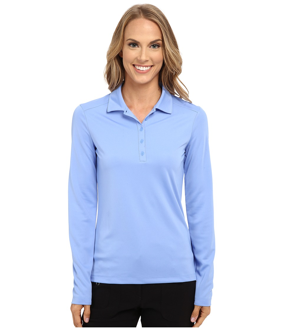 Nike Golf - Victory Long Sleeve Polo (Chalk Blue/White) Women's Long Sleeve Pullover