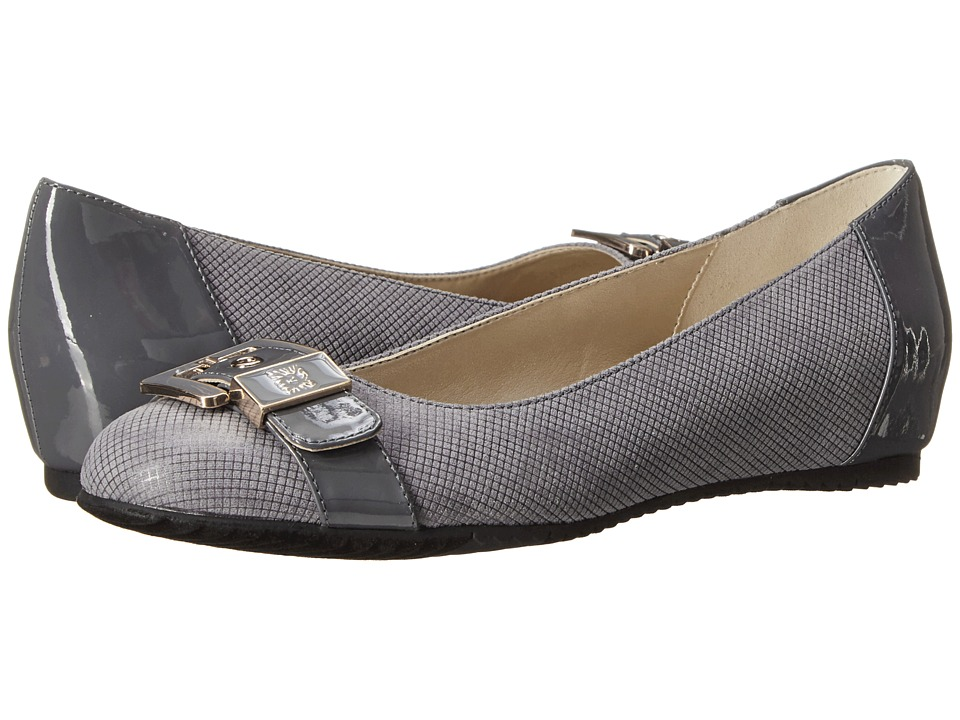 Anne Klein Fen (Grey/Grey Fabric) Women
