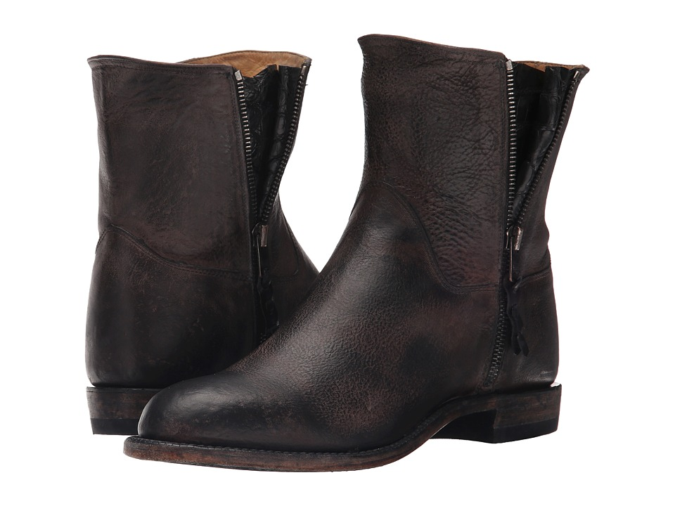 Lucchese Harper (Black) Cowboy Boots