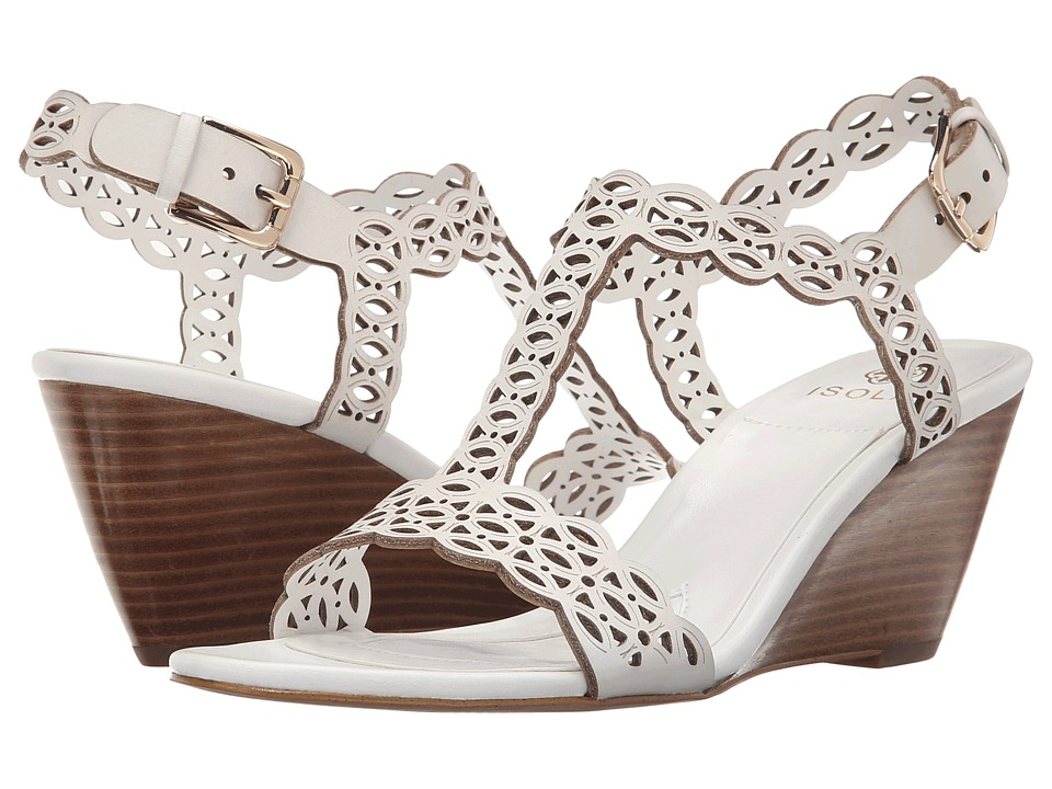 Isola - Fleur (White M-Vege) Women's Wedge Shoes