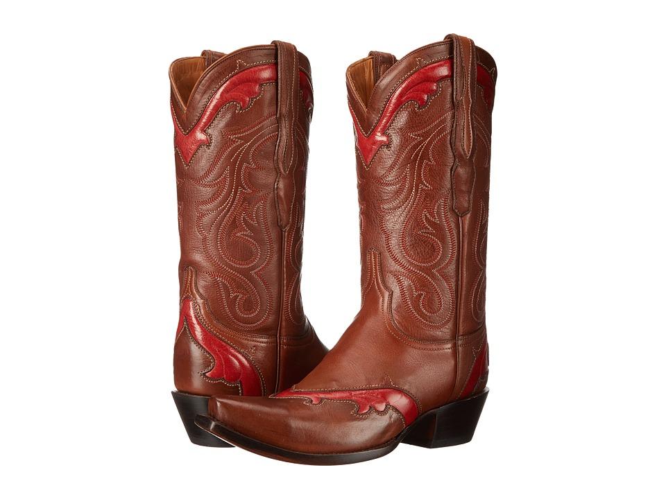 Lucchese Loretta (Cognac) Cowboy Boots