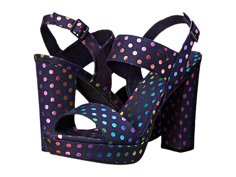 Rocket Dog - Studio (Navy Laser Dot) High Heels