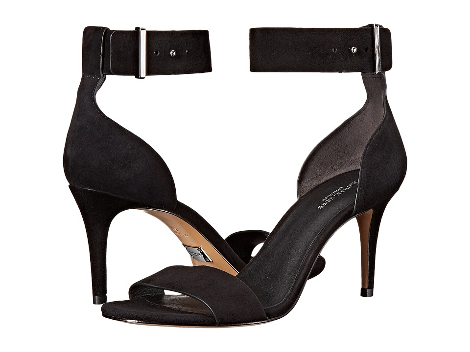 Michael Kors - Ames (Black Kid Suede) High Heels