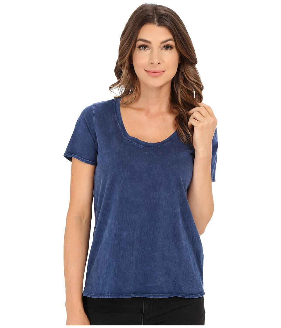 Splendid - Mineral Treatment Tee (Navy) Women's T Shirt