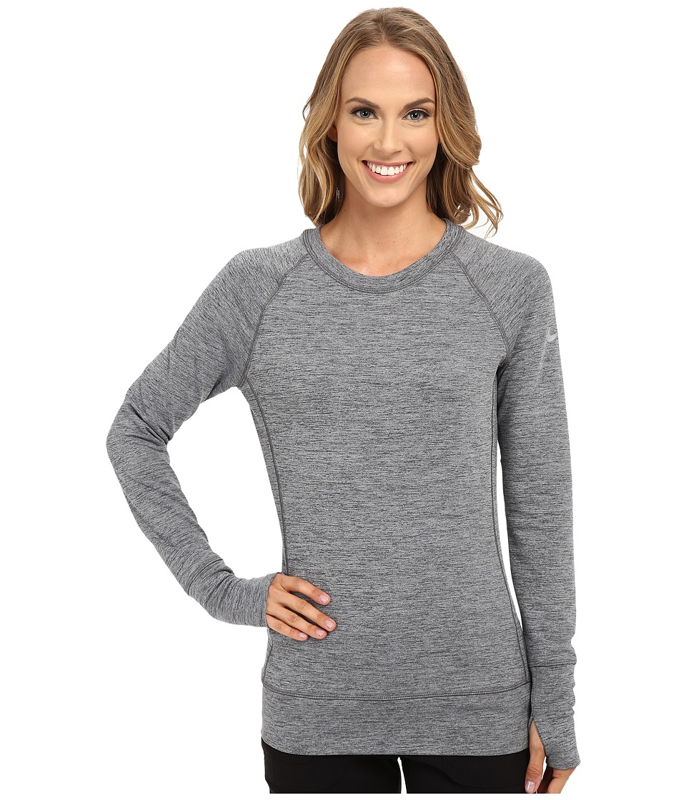 Nike Golf - Bunker Crew (Black/Wolf Grey/Metallic Silver) Women's Sweatshirt