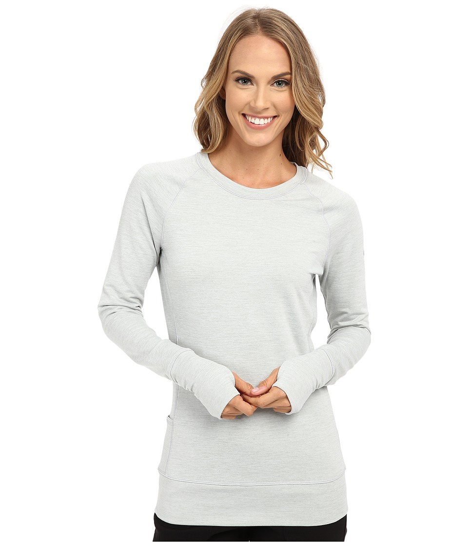 Nike Golf - Bunker Crew (White/Wolf Grey/Metallic Silver) Women's Sweatshirt
