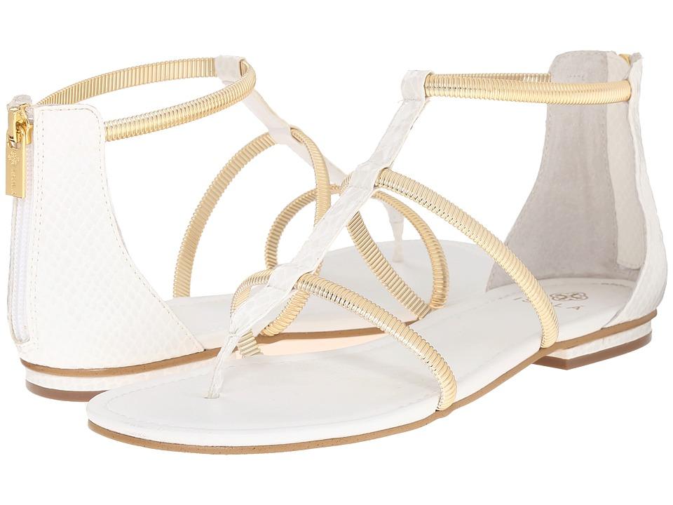 Isola - Markita (White Snake Print) Women's Sandals