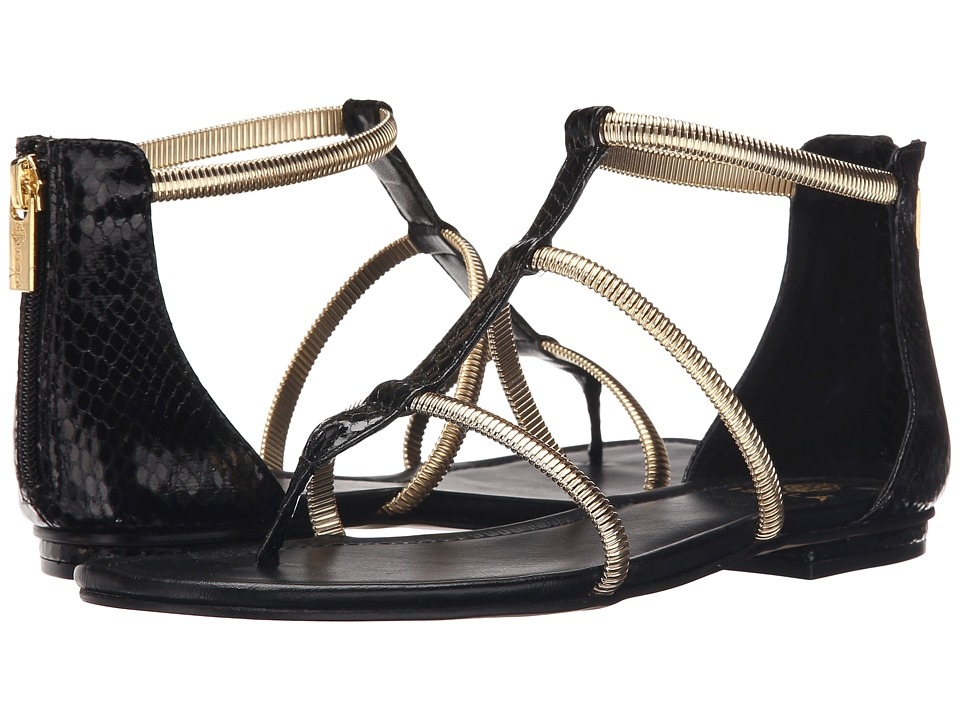 Isola - Markita (Black Snake Print) Women's Sandals