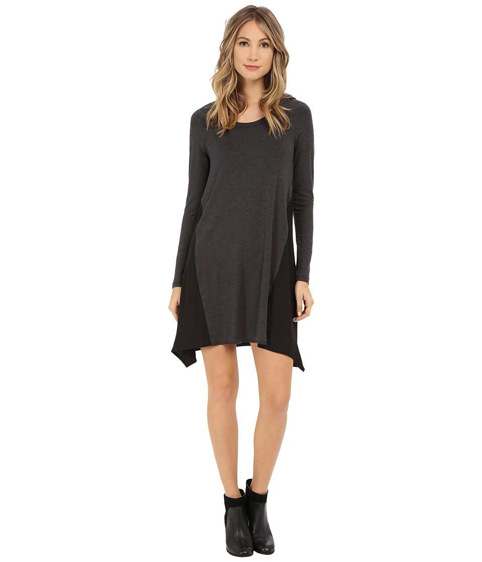Splendid - Jersey Dress (Charcoal) Women's Dress