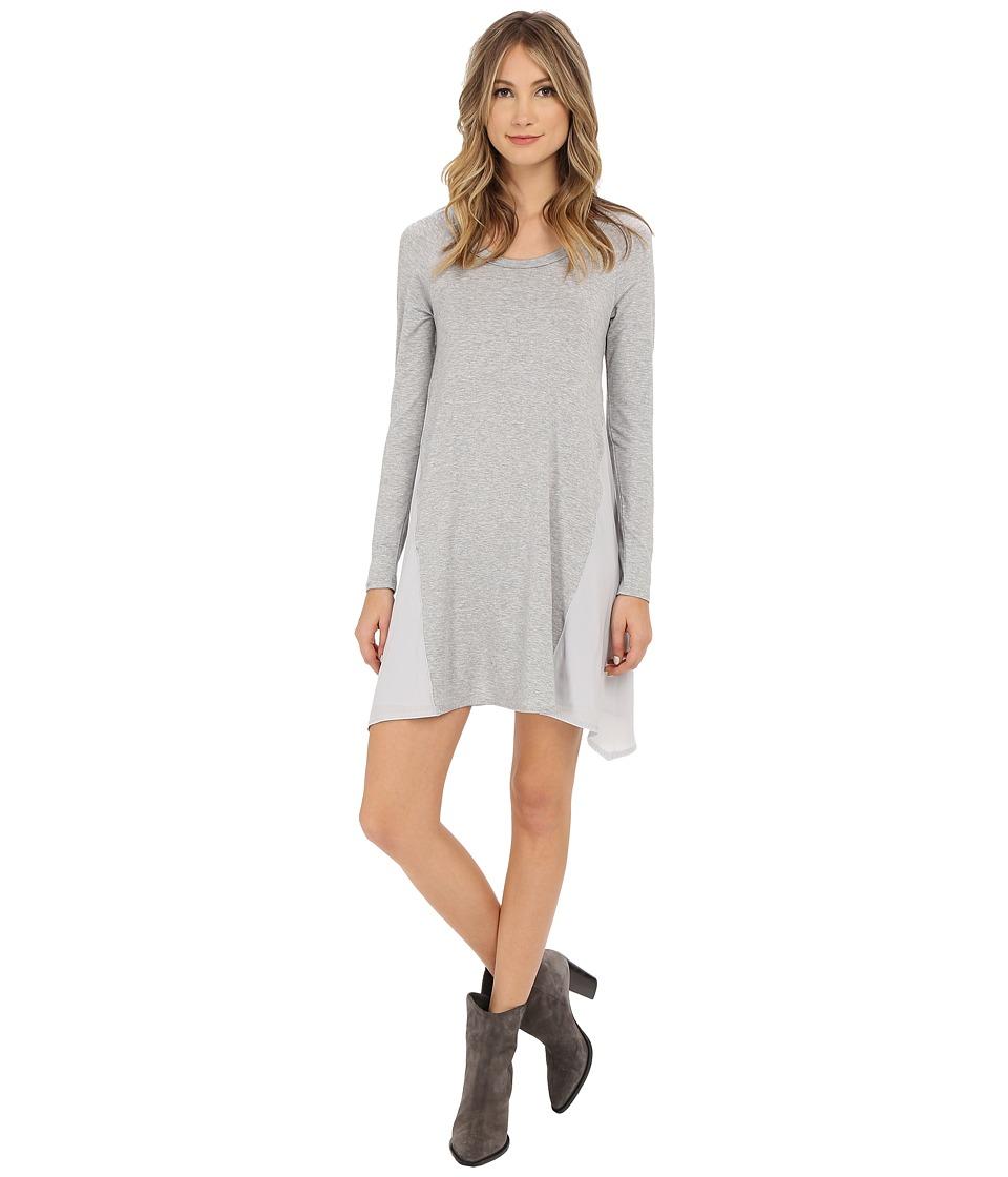 Splendid Jersey Dress (Heather Grey) Women