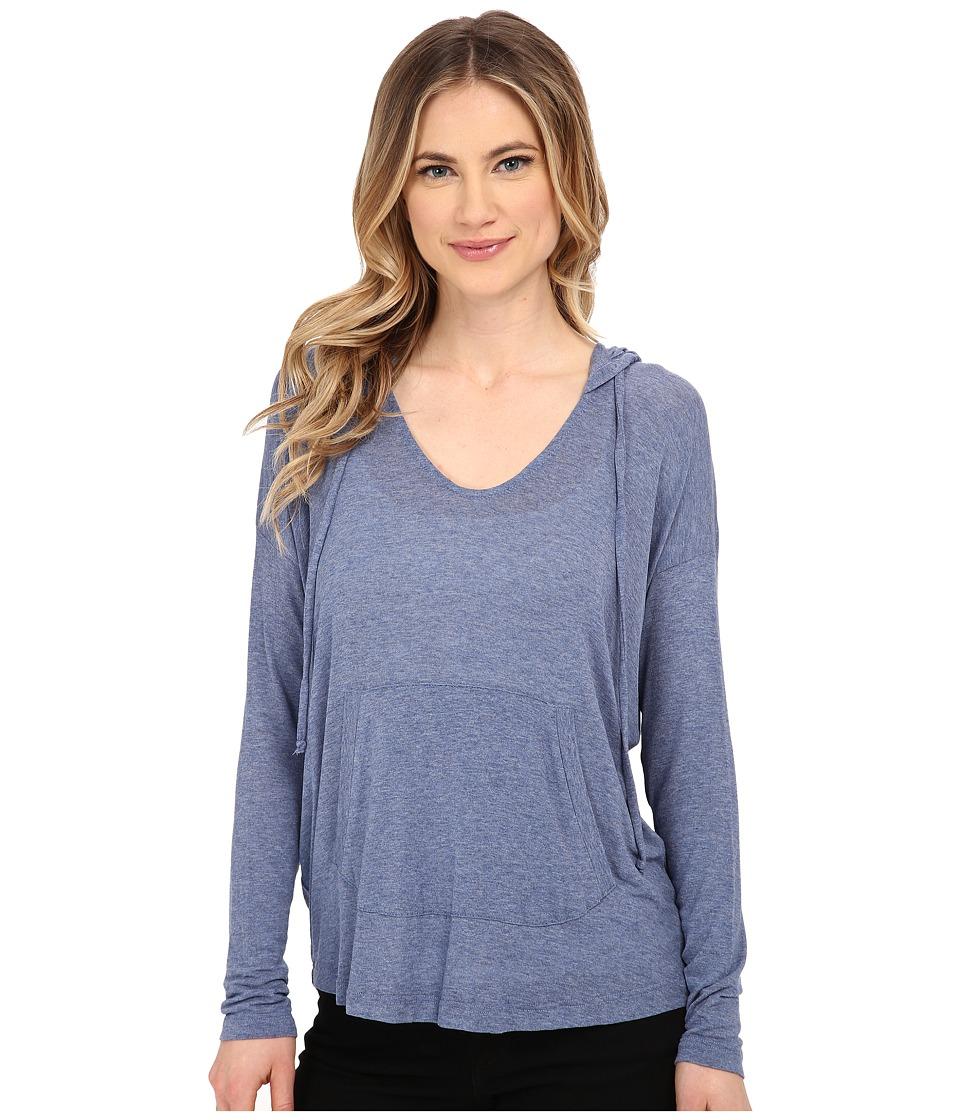 Splendid - Drapey Lux Hoodie (Chambray 2) Women's Sweatshirt