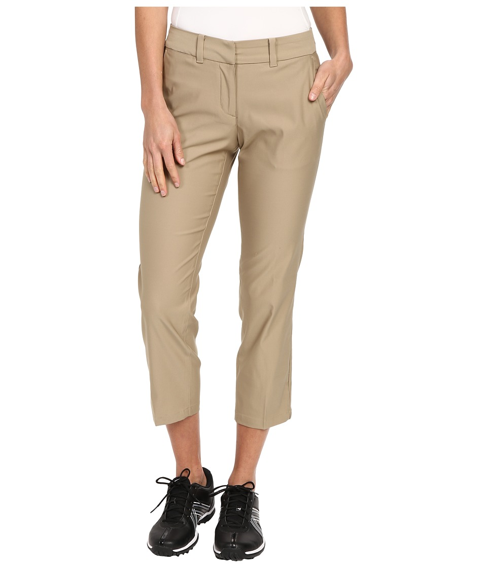 Nike Golf - Tournament Crop (Khaki/Khaki) Women's Casual Pants