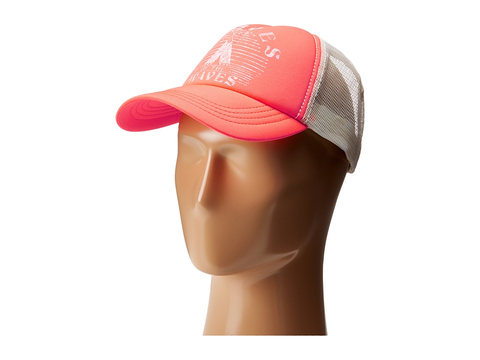 Billabong - Good Vibes Hat (Coral Kiss) Caps