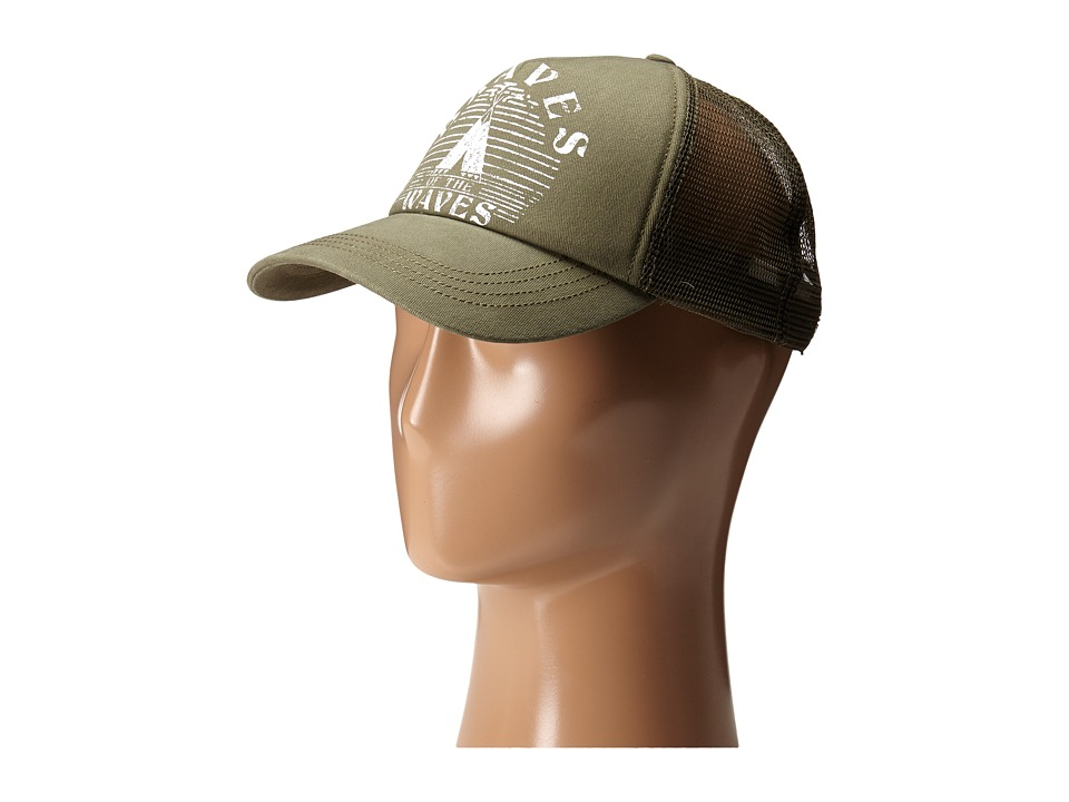 Billabong - Good Vibes Hat (Grunge Green) Caps