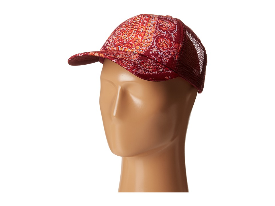 Billabong - Joshua Tree Trucker Hat (Black Cherry) Caps