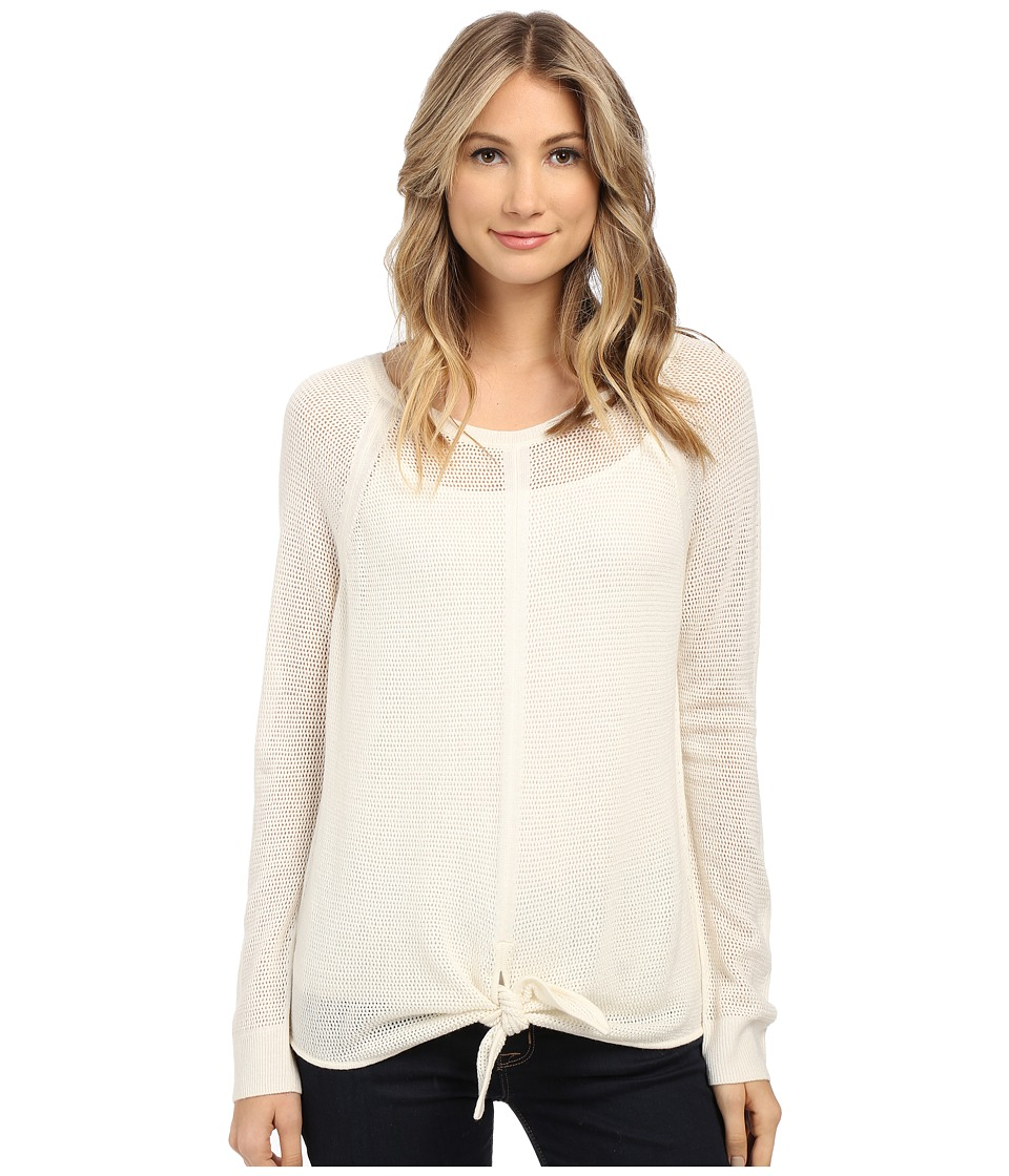 Splendid - Tie Front Sweater (Natural) Women's Sweater