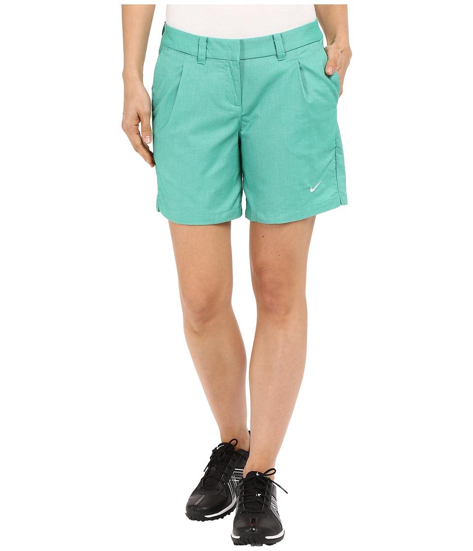 Nike Golf - Oxford Shorts (Lucid Green/White) Women's Shorts