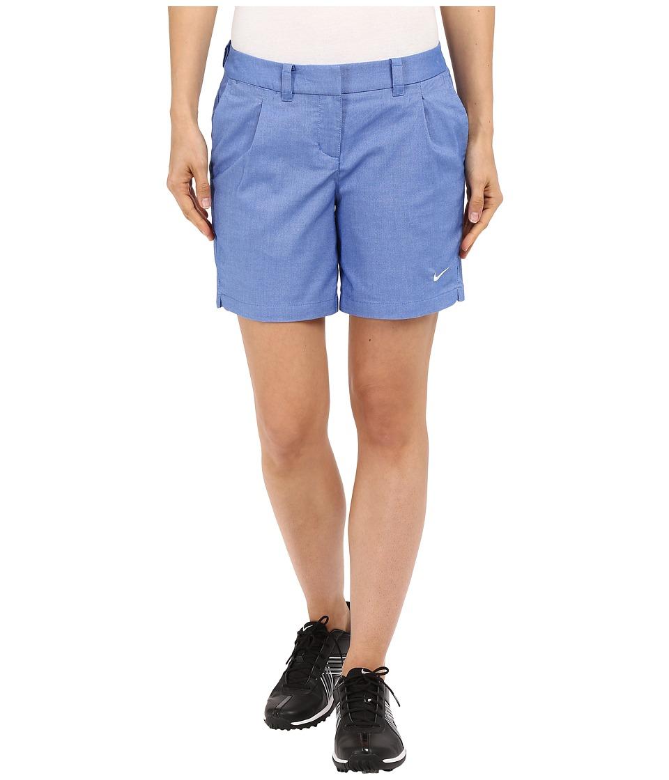 Nike Golf - Oxford Shorts (Game Royal/White) Women's Shorts