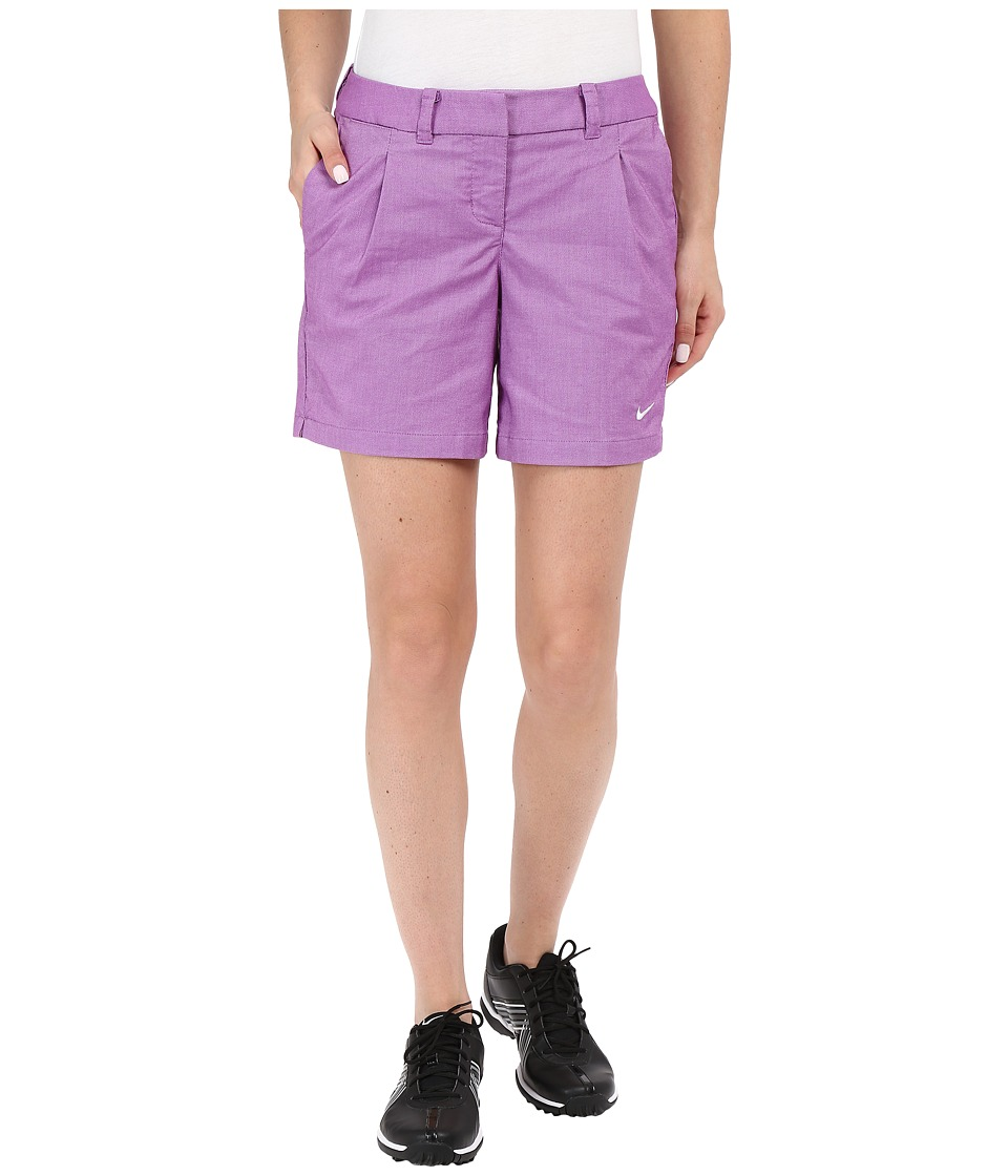 Nike Golf - Oxford Shorts (Cosmic Purple/White) Women's Shorts