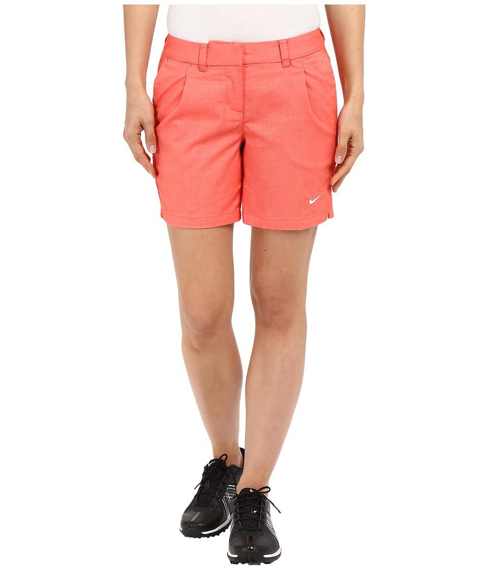 Nike Golf - Oxford Shorts (Light Crimson/White) Women's Shorts