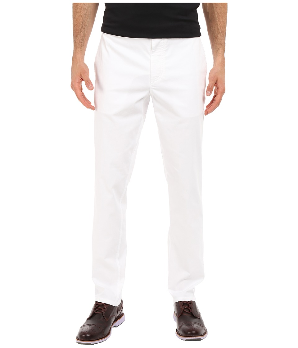 Nike Golf - Modern Fit Washed Pants (White/Wolf Grey) Men's Casual Pants