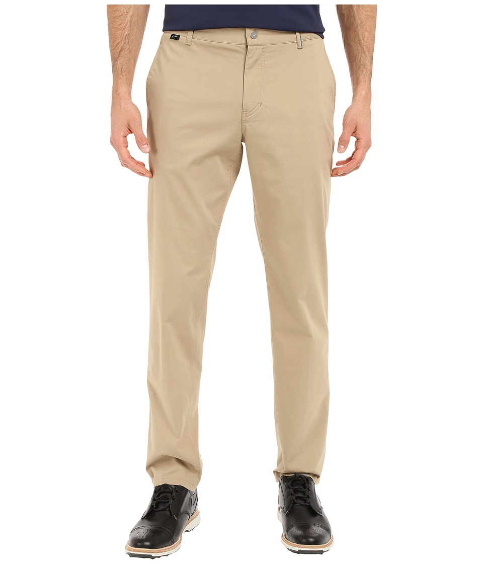 Nike Golf - Modern Fit Washed Pants (Khaki/Midnight Navy/Photo Blue/Wolf Grey) Men's Casual Pants
