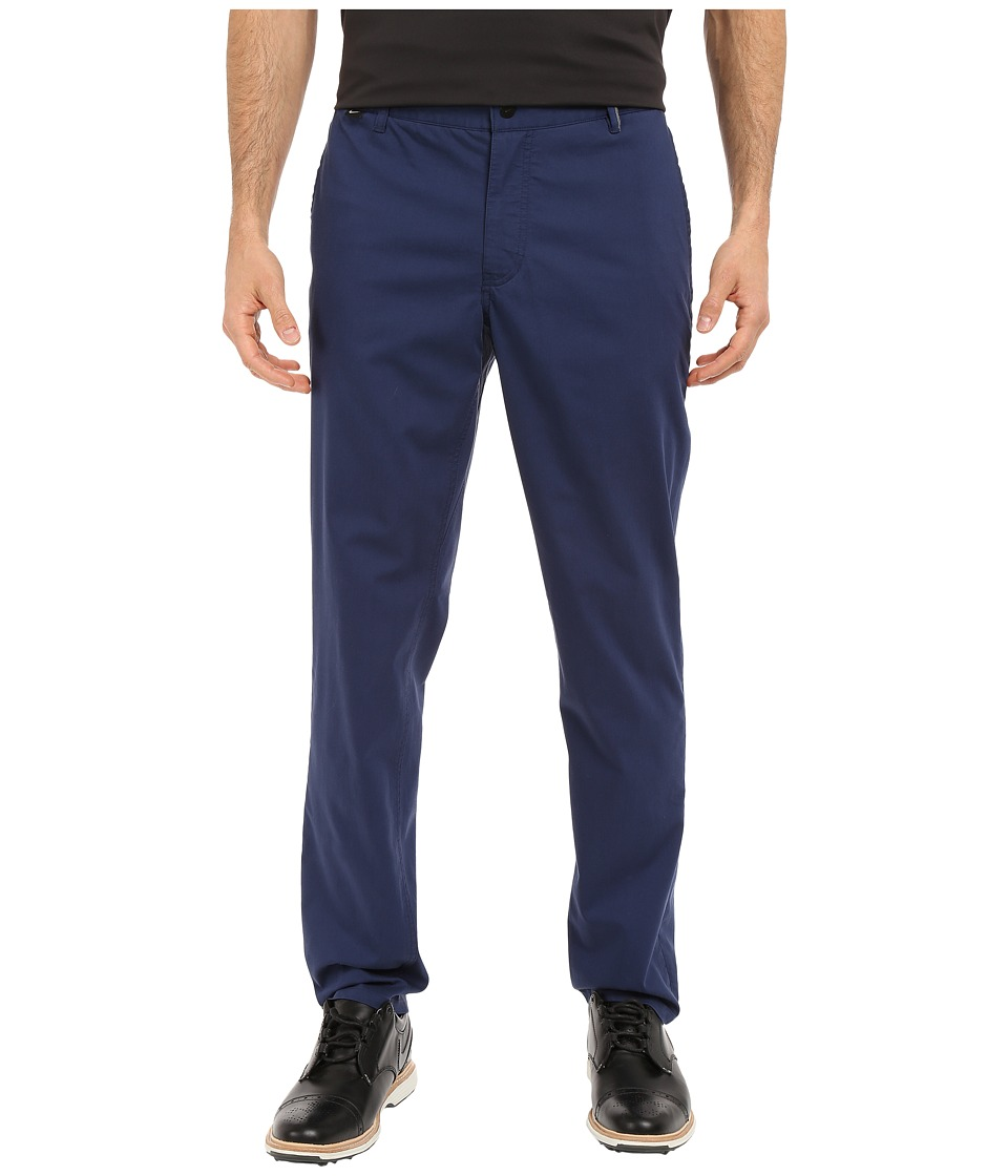 Nike Golf - Modern Fit Washed Pants (Midnight Navy/Midnight Navy/Bright Crimson/Wolf Grey) Men's Casual Pants