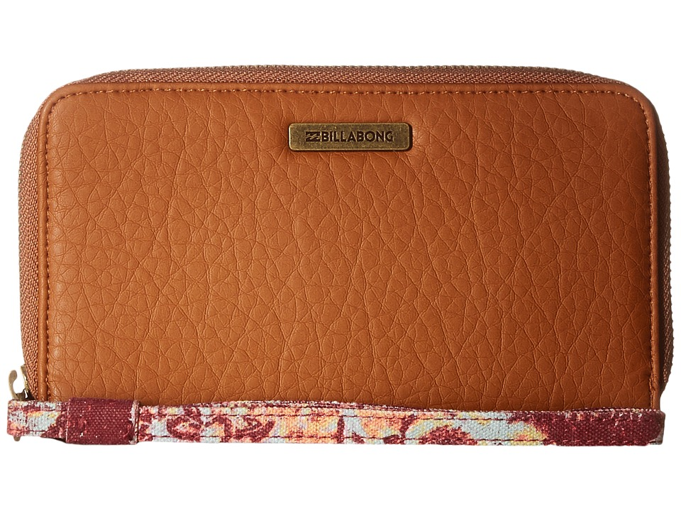 Billabong - South Vacay Wallet (Camel) Wallet Handbags