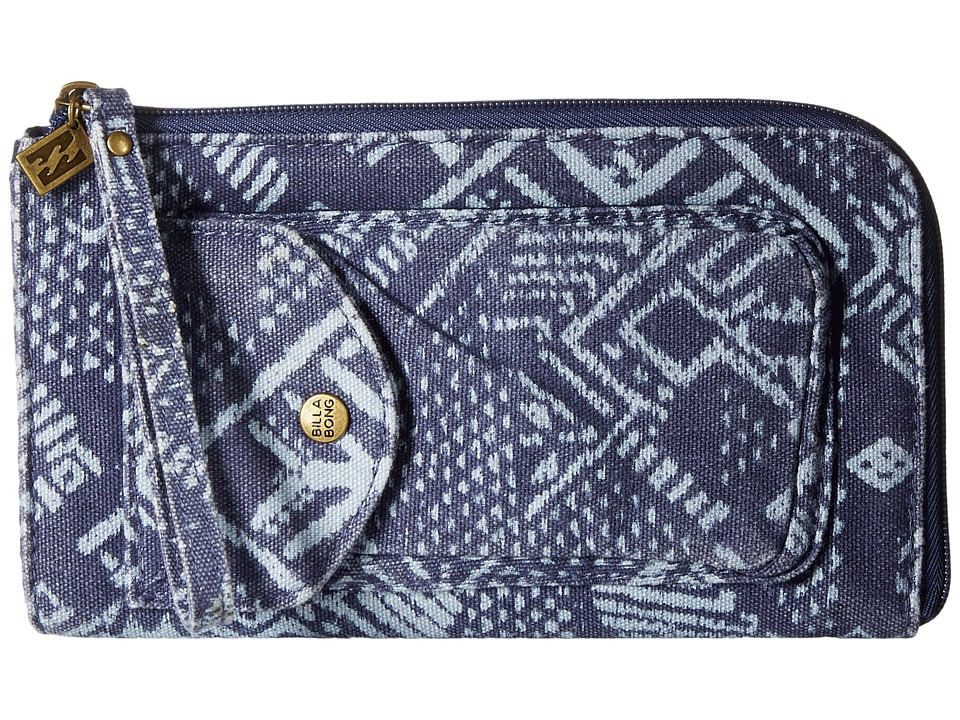 Billabong - Look Up Sunchild Wallet (Blue Cruz) Wallet Handbags