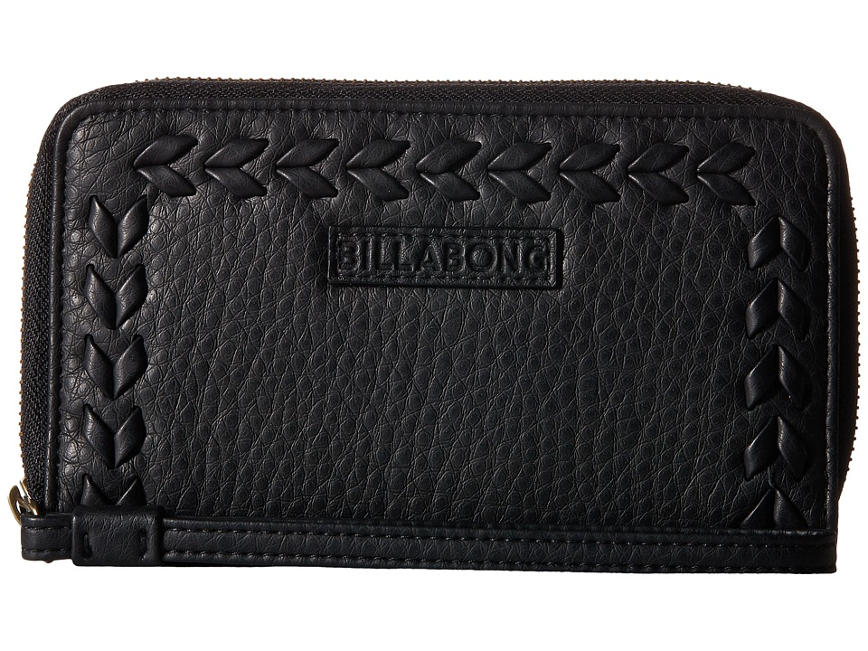 Billabong - Moonlit Exit Wallet (Off-Black) Wallet Handbags
