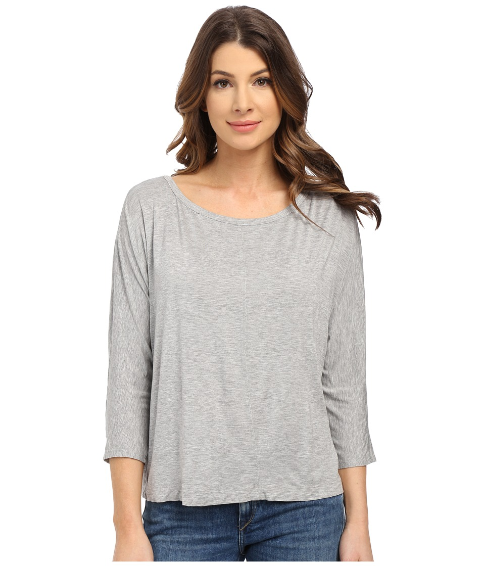 Splendid - Rayon Jersey Dolman (Heather Grey) Women's Clothing