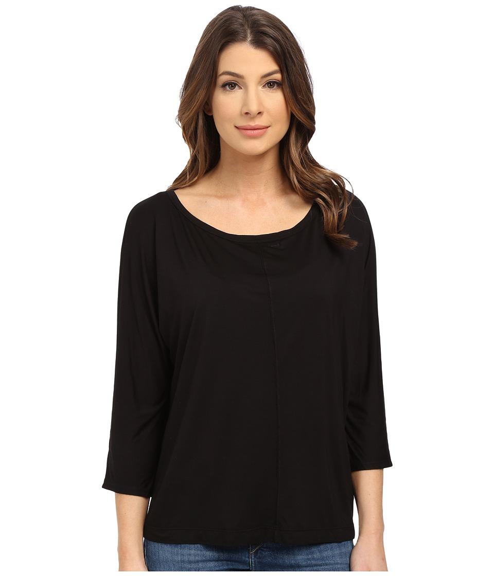 Splendid - Rayon Jersey Dolman (Black) Women's Clothing