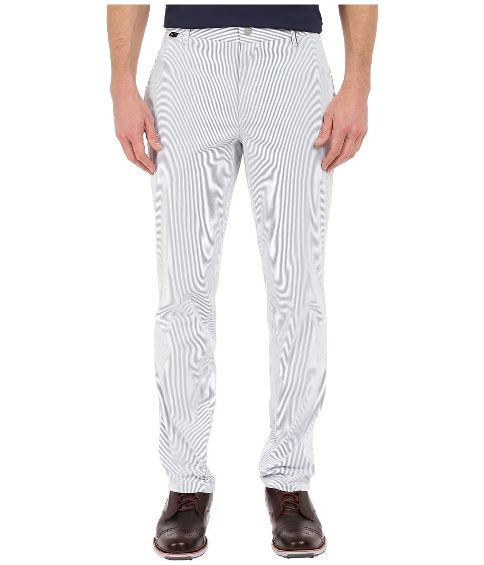 Nike Golf - Modern Fit Seersucker Pants (Ocean Fog/White/Midnight Navy/Wolf Grey) Men's Casual Pants