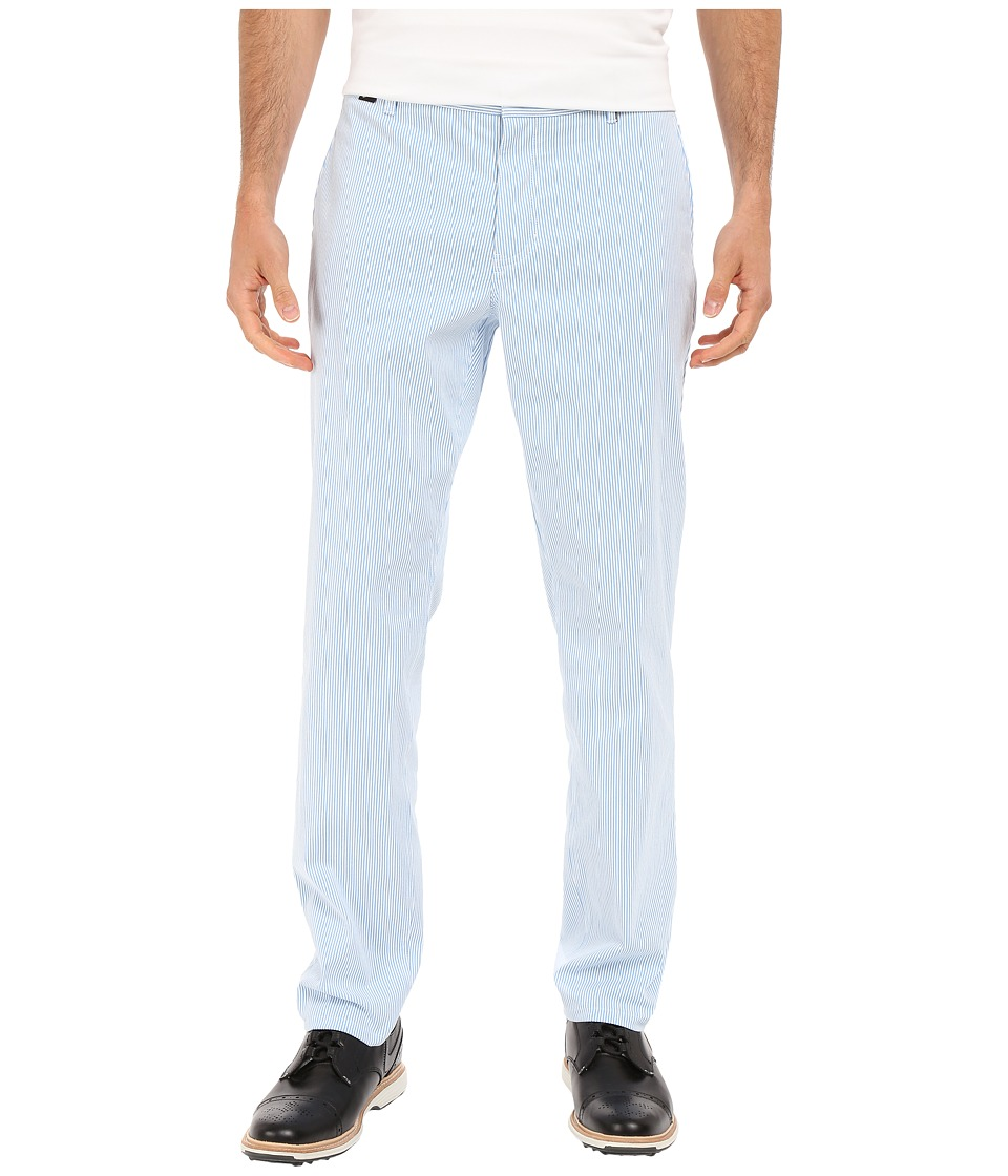Nike Golf - Modern Fit Seersucker Pants (Photo Blue/White/Midnight Navy/Wolf Grey) Men's Casual Pants
