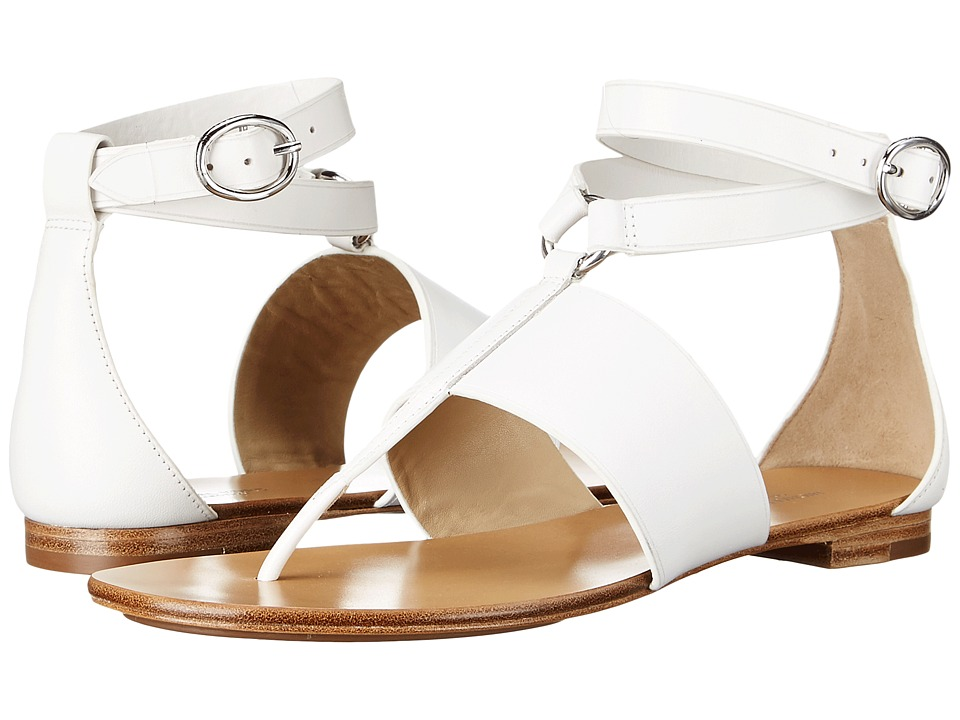 Michael Kors - Candice (Optic White Vachetta) Women's Sandals