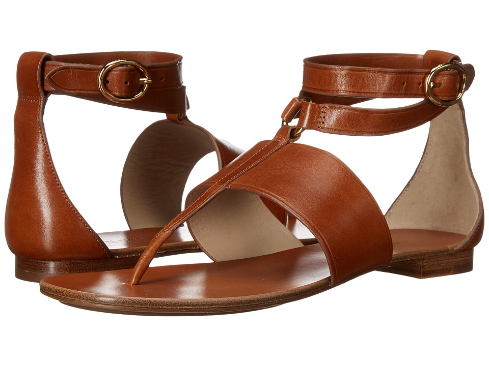 Michael Kors - Candice (Luggage Vachetta) Women's Sandals