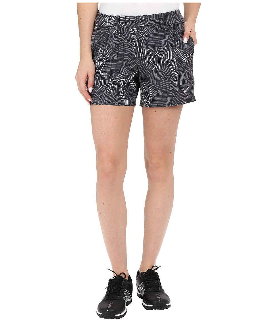 Nike Golf - Shorty Shorts Print (Anthracite/White) Women's Shorts