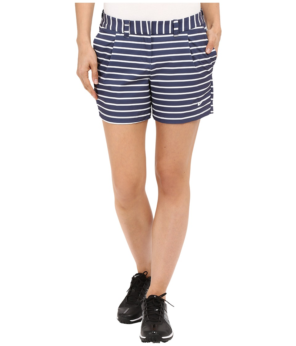 Nike Golf - Shorty Shorts Print (Midnight Navy/White/White) Women's Shorts