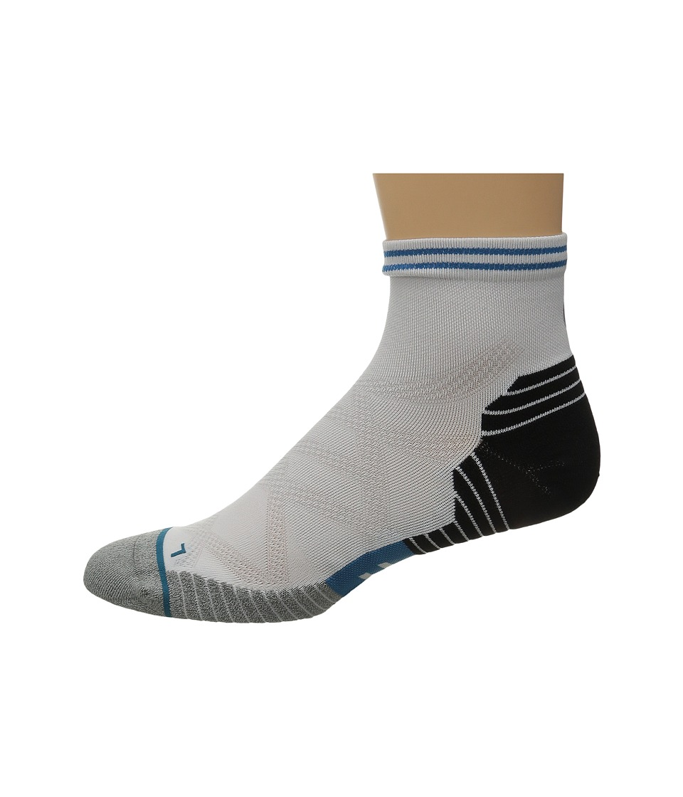 Stance - Exist (White) Men's Crew Cut Socks Shoes