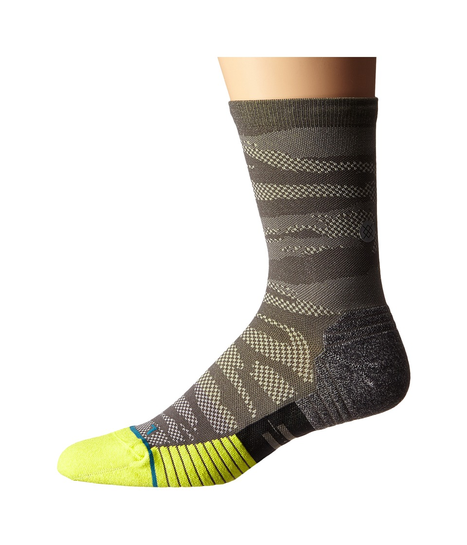 Stance - Bandit Too Crew (Volt) Men's Crew Cut Socks Shoes