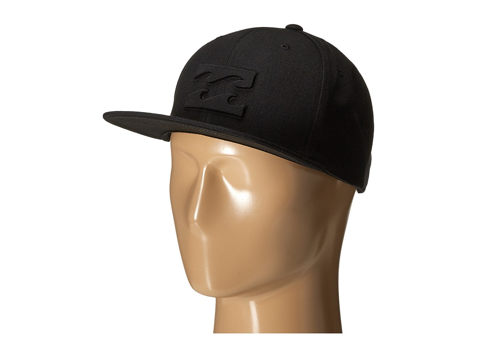 Billabong - All Day Snapback Hat (Stealth) Caps