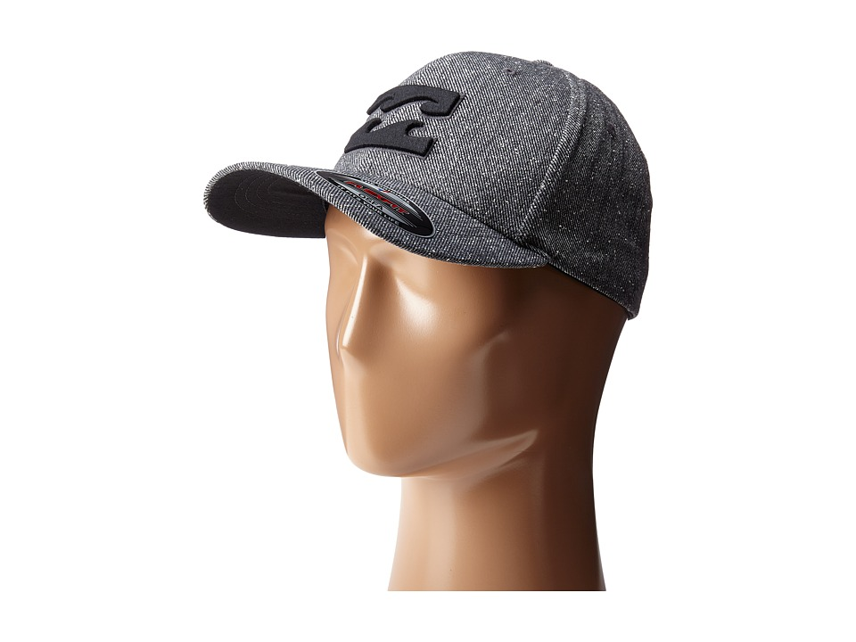 Billabong - All Day Flexfit Hat (Charcoal Heather) Caps
