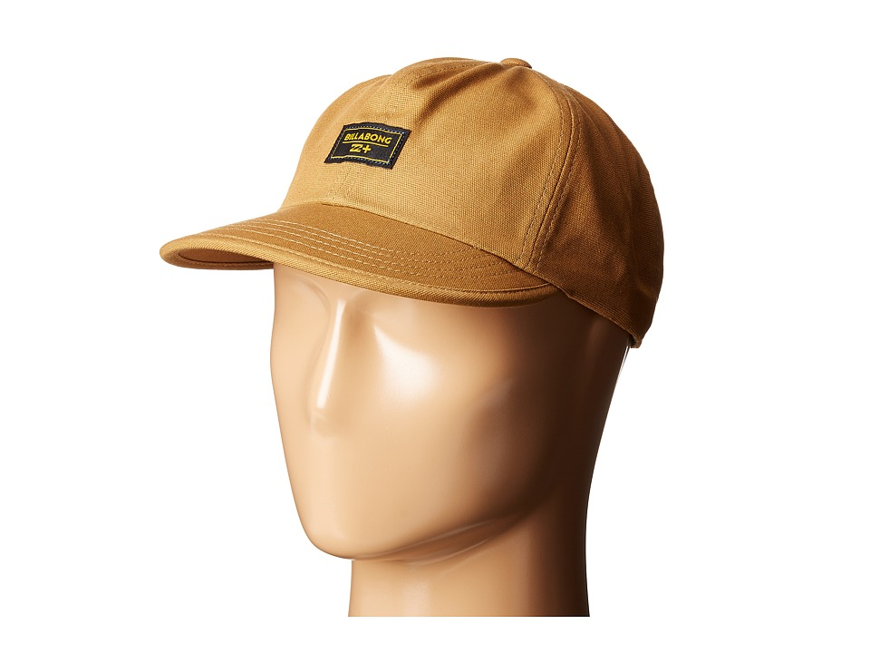 Billabong - Humboldt Hat (Burnt Orange) Caps