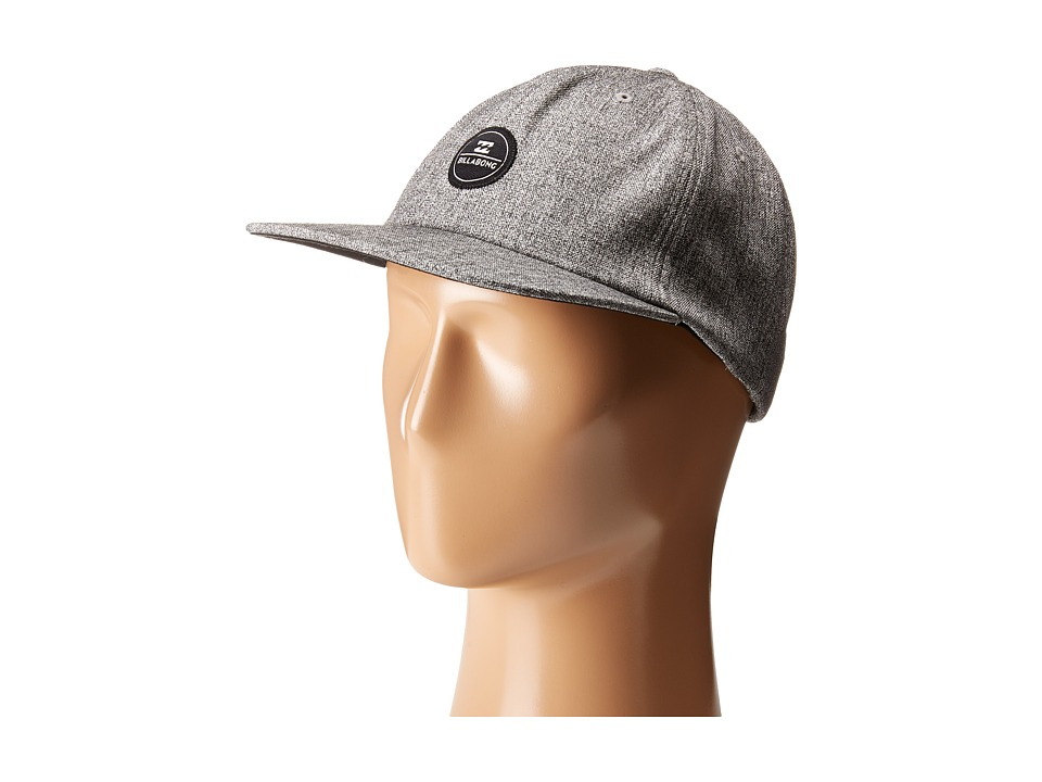 Billabong - Slabs Hat (Grey Heather) Caps