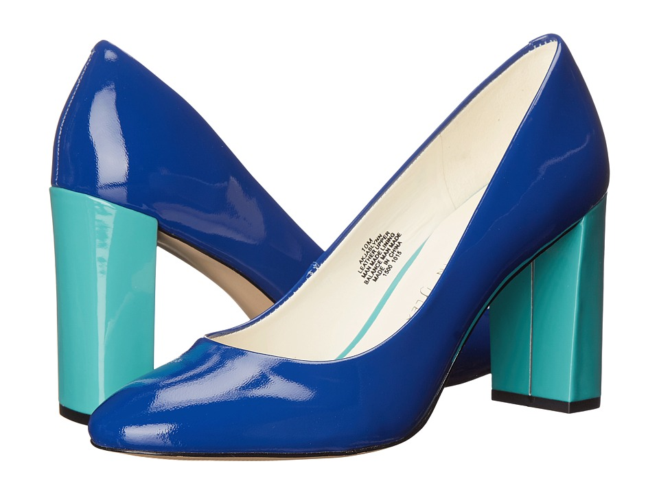 Anne Klein Jaslynn (Medium Blue Patent) High Heels