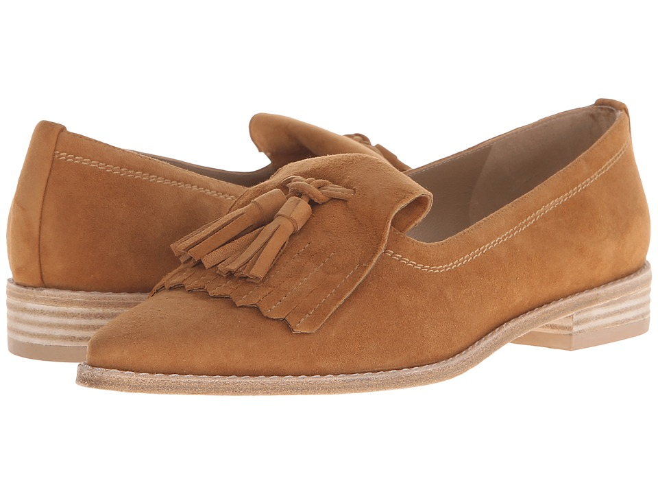 Stuart Weitzman - Avatass (Camel Suede) Women's Slip-on Dress Shoes
